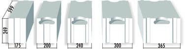 wandelemente bauen mit porenbetonsteinen porenbeton24. Black Bedroom Furniture Sets. Home Design Ideas