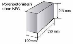 pp2 gasbetonsteine porenbeton f r die au enwand beim hausbau porenbeton24. Black Bedroom Furniture Sets. Home Design Ideas