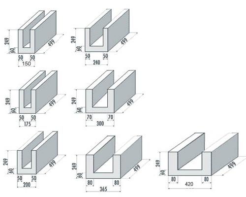 Relativ Ytong Steine Masse LR02